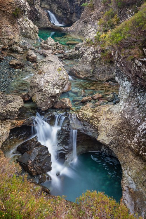 WK40 AH Waterfalls Isle of Skye Scotland 9280