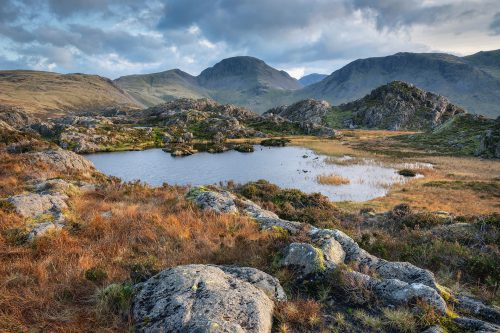 WK45 Inominate Tarn Haystacks Lake District